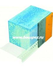 Профиль-капельник ПВХ с армирующей сеткой 2,5 м