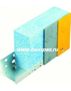 профиль цокольный алюминиевый 150 мм 2,5 м