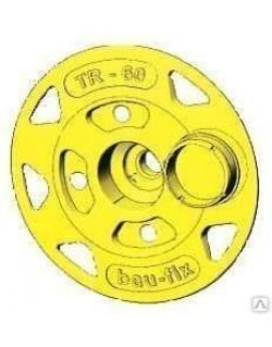 тарельчатый держатель теплоизоляции (рондоль) бау-фикс tr-60 (60 мм)
