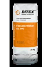 Клей для утеплителя BITEX FASSADENKLEBER KL 500 25 кг