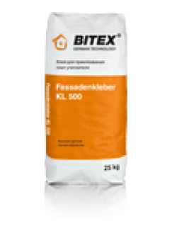 Клей фасадный BITEX FASSADENKLEBER KL 500 25 кг