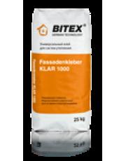 Универсальный фасадный клей BITEX FASSADENKLEBER KLAR 1000 25 кг