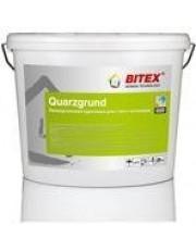 Грунтовка с кварцевым песком BITEX Quarzgrund 15 кг Мокрые фасады